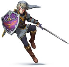 Link Color Swap - Characters & Art - Super Smash Bros. for 3DS and Wii U