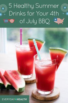 Get ready for the #FourthofJuly with one of these refreshing drink recipes.