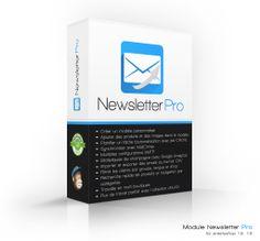 Ce module pour PrestaShop vous permet de créer et d'envoyer vos propres lettres d'information. Il vous permet d'insérer facilement des produits de votre magasin et met à votre disposition de nombreux modèles de lettres personnalisables.