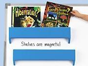 Magnetic Display Shelves - Set of 2