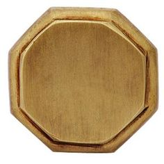 Copper Mountain Hardware 1-5/8 in. Antique Brass Octagon Cabinet Knob-SH114US5 at The Home Depot