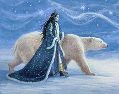 """Snow Princess"" by Ruth Sanderson"