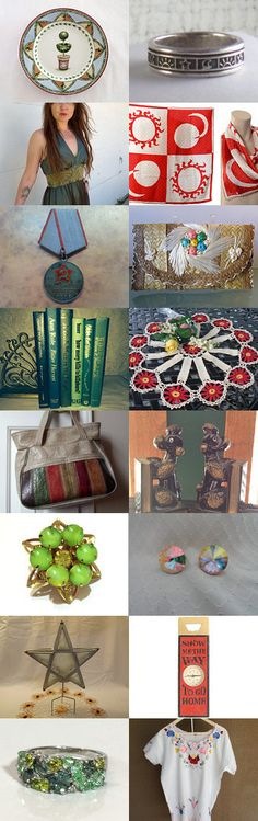 Team Vintage Explosion Theme Treasury - Dog Days of Summer by Shane Popp on Etsy--Pinned with TreasuryPin.com