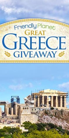 Get in the Draw to #Win a Greek #Getaway! #Greece #holiday #contest #sweeps