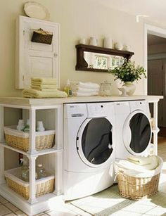 laundry room | Laundry Room Organizing | How to Build a House