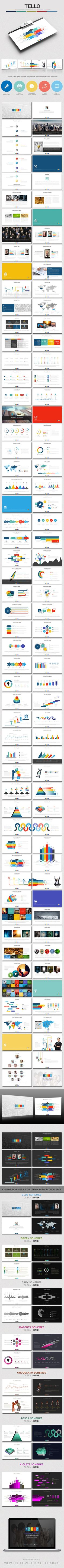 Tello Powerpoint Template #powerpoint #powerpointtemplate Download: http://graphicriver.net/item/tello-powerpoint-template/10040798?ref=ksioks