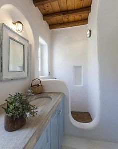 Touch Of Nature In Bathroom Design