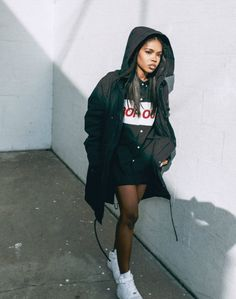 Ryan Destiny hooded jacket