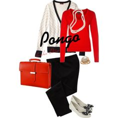 Pongo: Teacher Edition by msgeddings on Polyvore featuring GANT, Merona, Old Navy, Melissa, Giorgio Fedon 1919 and Brooks Brothers