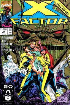 X-Factor - Marvel Comics - Dated in Collectibles, Comics, Copper Age Superhero, X-Men Marvel Comics, Marvel E Dc, Marvel Comic Books, Marvel Heroes, Comic Books Art, Book Cover Art, Comic Book Covers, Book Art, Xmen