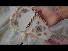 Flower embroidery,my latest project. - YouTube