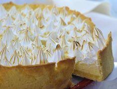 Lemon Merengue Pie, Lemon Pie Receta, Lemon Cheese, Cake Recipes, Dessert Recipes, Pan Dulce, Eclairs, Pavlova, Macaroons