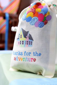 Party favors at a Disney's Up themed birthday party via Kara's Party Ideas KarasPartyIdeas.com Printables, cakes, invitation, cupcakes, desserts, and MORE! #d...