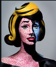 How fabulous a Pop Art Costume based on Roy Lichenstein