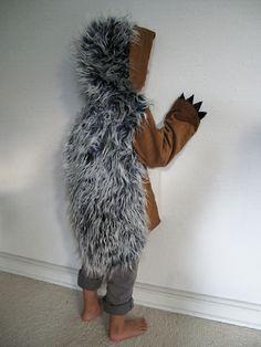 Igel 6-7 Jahre, Grüffelo, hedgehog, Kinderkostü... von maii-berlin auf DaWanda.com