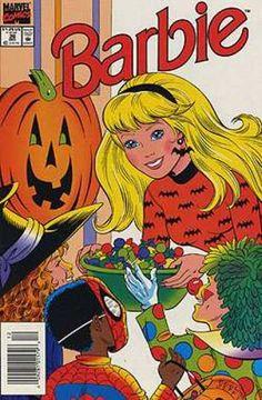 Portadas de cómics relacionadas con Halloween