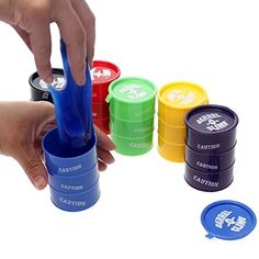 Buy Gifts Online Set Of 5 Big Size Barrel O Slimes- 7.5 cm Per Barrel Online at Low Prices in India - Amazon.in