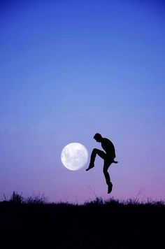 Kick to the moon