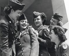 greatest generation (womenatwar: Air WACs in WWII with new 15th AF...)