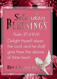 Psalm 37 4, Psalms, Have A Blessed Day, Blessings, Lord