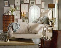 Hooker Furniture - Primrose Hill White Cane Shelter Bed