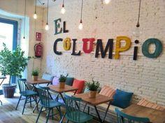 Home Decoration Cheap Ideas Coffee Shop Design, Cafe Design, Rustic Design, Urban Interior Design, Restaurant Interior Design, Interior Sketch, Juice Bar Interior, London Cafe, Kids Cafe