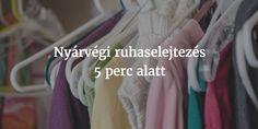 Nyárvégi ruhaselejtezés 5 perc alatt – PARETO LÁNYA