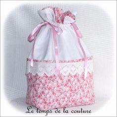sac pochon linge lingerie blanc rose japonais dijon gien chatillon loire création décoration ameublement fait main le temps de l