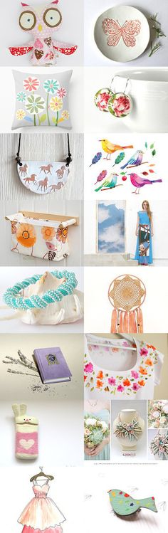 Spring finds by Veronika on Etsy--Pinned with TreasuryPin.com