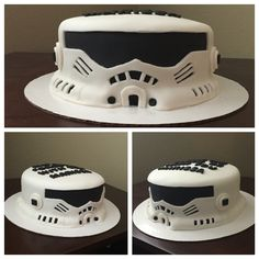 Storm trooper cake. Made December 2015.