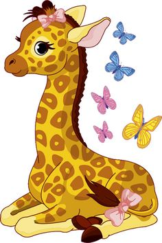 cute cartoon giraffe kids nursery wall sticker - Google keresés