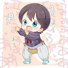 Touken Ranbu x Reader/Saniwa - Baby Toudans - Ch 3 : Mother Aruji Anime Neko, Manga Anime, Anime Oc, Manga Boy, Bebe Anime, Kirito Asuna, Familia Anime, Cute Twins, Natsume Yuujinchou