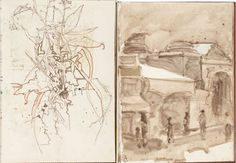 Laurence Esnol Gallery :: H. Craig Hanna :: Peintures et Dessins :: 7 + 22 rue Bonaparte 75006 PARIS :: 01 46 33 47 01 | 01 45 44 32 38
