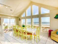 'Here to Dream' * Open Dates 9/23-4 nts, 10/16-11 nts AND 12/1. VIRTUAL TOUR Here to Dream Overview The Here to Dream beach house is located directly on t...