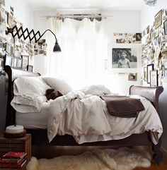 Cluttered but Awesome | Small Bedroom Inspiration
