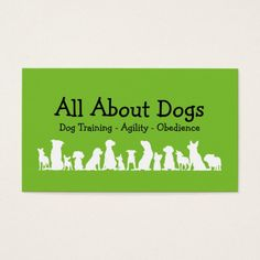 245 best dog trainer business cards images on pinterest business dog training professional business card colourmoves