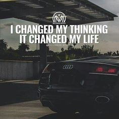 I Changed My Thinking It Changed My Life! www.BlessedToBeJobless.com