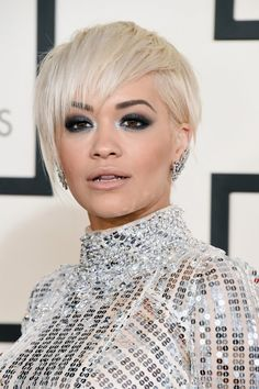 Rita Ora Shows Off Her New Pixie Cut at the Grammys - Hollywood Reporter