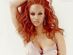 Scrumptious and Sexy Tyra Banks
