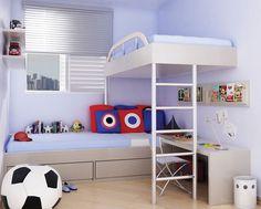 quartos de meninos decorado - Pesquisa Google