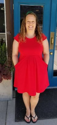 Geraldine's Zadie dress - sewing pattern by Tilly and the Buttons