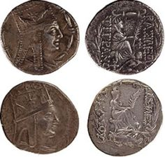 Tigranes the Great-era ancient Armenian coins that have been lent to the Bodleian
