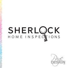 Logo design for Sherlock Home Inspections, Bay of Plenty, NZ Home Inspection, Page Design, Sherlock, House Design, Graphic Design, Logos, Logo, Architecture Design, House Plans