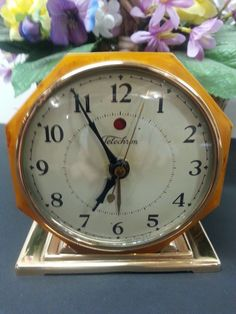 "Telechron ""SPECIAL CAMPAIGN"" Alarm Clock Vintage Alarm Clocks, Father Time, Tic Toc, Campaign, Collection"