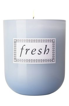 Fresh - SUGAR CANDLE - Fresh A scented candle that offers a beautiful blend of citruses and caramels for a bright gourmand scent. Home Scents, Home Fragrances, Fresh Sugar, Fresh Fresh, Italian Home Decor, Blue Candles, Wax Candles, Blue Home Decor, Scented Candles