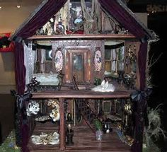 1000 Images About Haunted Doll Houses On Pinterest