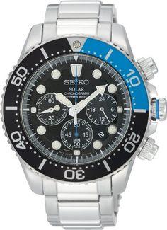 [セイコー]SEIKO 腕時計 ソーラー ダイバーズクロノ 海外モデル SSC017PC メンズ 【逆輸入品】