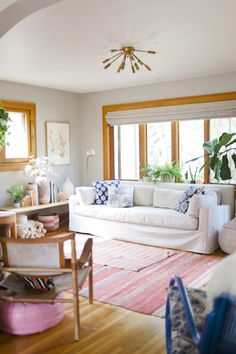 Michelle LeBlanc's home onDesign*Sponge via Sycamore Street Press