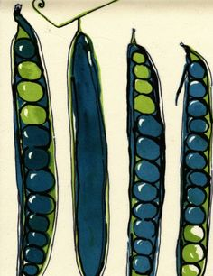 silkscreen or linocut Food Illustrations, Illustration Art, Textures Patterns, Print Patterns, Art Postal, Collage, Silk Screen Printing, Kitchen Art, Food Art