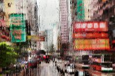 Christophe Jacrot. Hong Kong In The Rain. Hile.
